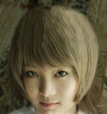 APH Axis Powers Hetalia Sealand blonde gold cosplay wig