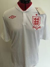 "BNWT Final Issue Official Umbro England Shirt Euro 2012 Insignia Size 40 "" Mens"