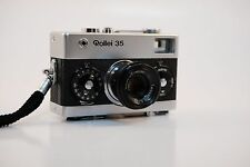 Rollei 35 Chrome Silver Analog Compact Camera - MINT condition