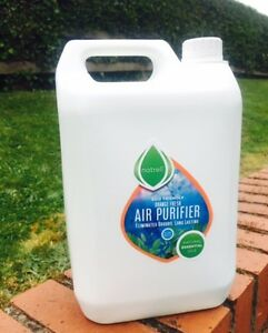 Natrell Air freshener,4 Essential Oils,Orange.5 Litre,Spray,Refill,Antibacterial