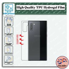 Back Protector Skin Cover For SAMSUNG Galaxy Note 10 Plus TPU FILM Hydrogel