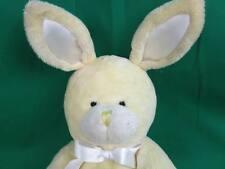 Mother Baby Kids Preferred Yellow Rabbit Hand Rattle Crib Plush Stuffed Ring