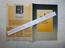 Siemens Rundfunkgeräte Schatulle historische Werbung 1938 antiker Katalog
