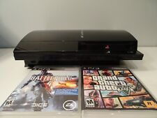 SONY PLAYSTATION 3 WITH GTA 5 AND BATTLEFIELD 4 (AWESOME CONDITION)