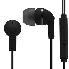 Moki Noise Isolation with Microphone Earbuds - Black