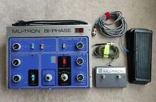 Musitronics Mu-Tron Bi-Phase w/ footswitch & C-100 clone pedal Phaser Vintage FX