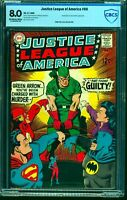 Justice League Of America #69 CBCS VF 8.0 Off White to White DC Comics