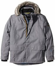 CMP - F.lli Campagnolo Marled Grey Waterproof Padded Parke Jacket XXL BNWT