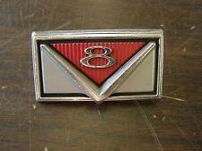 NOS OEM Ford 1966 Mercury Comet V8 Grille Ornament Emblem Trim