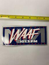 Nine Inch Nails WAAF sticker promo Rare