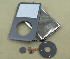 Gray Faceplate Metal Back Case Housing Clickwheel for iPod 6th Classic 120GB