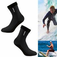 3mm Neopren Socken Tauchschuhe zum Tauchen, Schnorcheln, Schwimmen Wassersport