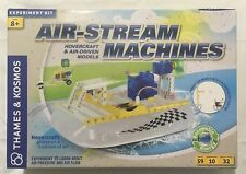 Air-Stream Hovercraft & Air-Driven Machines 10 Experiment Kit By Thames & Kosmos