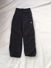 "Boys Black GSL  Ski Trousers Sz Waist 26"" #393"