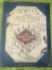 Harry Potter Marauders Map Magnetic Board Hanging Sign Plaque Magnets Primark