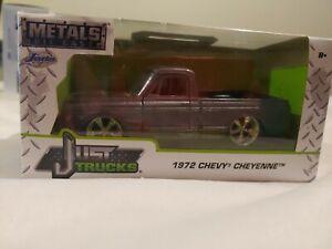 Jada Just Trucks 72 Chevy Cheyenne. GRAY 1/32
