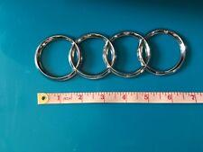"Original Audi 7"" logo emblem nameplate front or rear trunk tailgate badge"