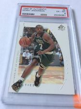1999 Upper Deck SP Authentic Kenny Anderson #6 PSA 6