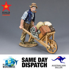 King & Country FOB068 Old Man & Wheel Barrow MIB Retired