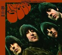 The Beatles Rubber Soul Audiophile MASTER COLLECTION 2017 1 CD 1 DVD 2 Discs Set