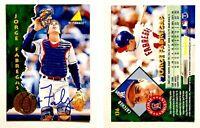 Jorge Fabregas Signed 1995 Pinnacle #136 Card California Angels Auto Autograph