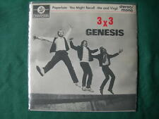 "GENESIS-""PAPERLATE"" RARE 7"" EP UK FIRST PRESSING 1982 UNIQUE P/S NEAR MINT"