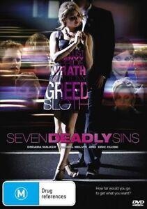 Seven Deadly Sins DVD - Drama Mystery - Reg 4