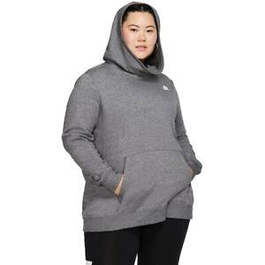 Nike Women's Funnel Neck Fleece HOODIE Sweatshirt (Plus Size 3X) NWT MSRP $50