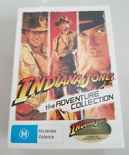 Indiana Jones Adventure Collection (DVD, 2008, 3-Disc Set) Harrison Ford. NEW