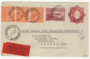 1927 Jul 1st. First Flight Cover. Normanton to Cloncurry. AAMC 107.