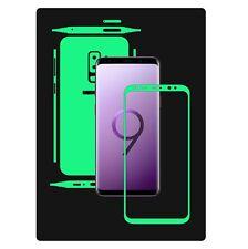 Glow in the Dark Skin Protector,Full Body Vinyl Decal Case Wrap,Samsung S9+ Plus