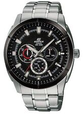 Casio Men's Edifice Watch Black Dial - EF327D-1A1
