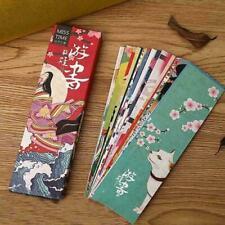 30pcs lot Kawaii Papier Lesezeichen Retro Japanese Style Buch Kennzeichen W7G8
