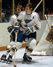 Plager Brothers (Bob and Barclay) - St. Louis Blues, 8x10 Color Photo