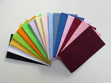 Pocket Square Kona Cotton Flat Top  Pre-folded & Sewn ready to slip in pocket