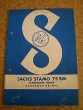 Handbuch Sachs Stamo 75 RM