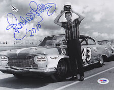 Richard Petty SIGNED 8x10 Photo NASCAR 2010 HOF THE KING PSA/DNA AUTOGRAPHED