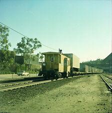 Orig 120mm Color Railroad Negative - Union Pacific UP M930 Caboose #23824
