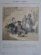GRANDVILLE (Jean-Ignace- Isidore Gérard dit) (1803-1847) : « Voyage moral et pi