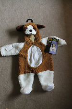 St. Bernard Dog Costume- Kids Costume Size 6-12 months