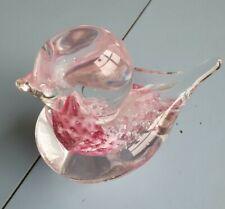 Glass Bird Paperweight/Ornament