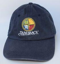TAMARACK RESORT Baseball Cap Hat Adjustable Strapback 6-Panel Blue