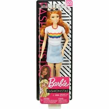 2019//2020 Barbie RAINBOW PINSTRIPED JUMPSUIT Barbie Doll Fashion Pack