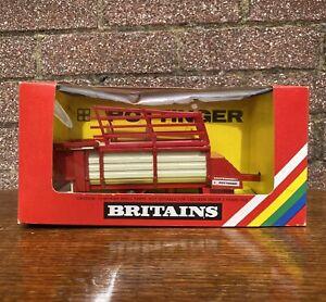 Vintage Britains 9587 Pottinger Loader Wagon Erntewagon In Original Box