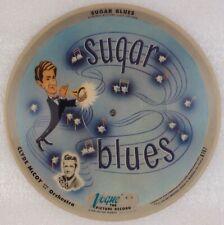 CLYD McCOY: Sugar Blues / Basin Street Blues VOGUE R707 Picture Disc 78 V+