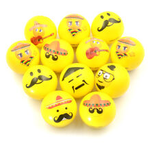6.3cm Face Print Sponge Foam Ball Squeeze Stress Ball Relief Toy PU Rubber cn