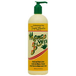 Triple Lanolin Mango Vera Hand and Body lotion 590 ml 20 oz