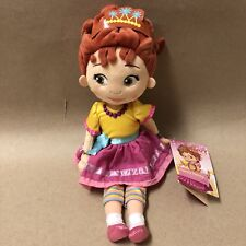 "Fancy Nancy 13"" Plush Doll, Disney Junior, Crown, Rainbow Pants, New!"