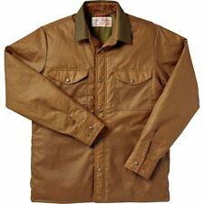 Filson Insulated Jac Shirt Mens Large Oil Finish Cover Cloth Made in USA New