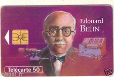 Télécarte - Les grandes figures des télécommunications - Edouard BELIN (A3230)